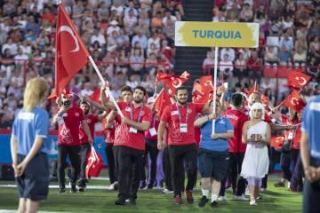 Akdeniz Oyunları'nda ilk sonuçlar