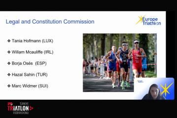 Avrupa Triatlon Birliği (ETU) kurullarında üç Türk
