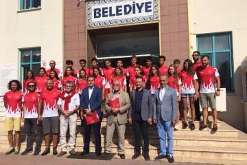 Milli takım Makedonya'ya uğurlandı