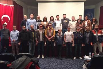 Aday hakem kursu İstanbul etabı tamamlandı