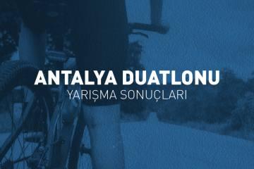 Antalya Duatlonu yarışma sonuçları (2019)