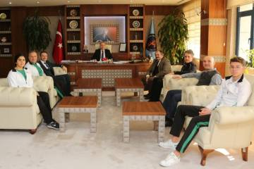 Federasyon yönetimi Antalya'da