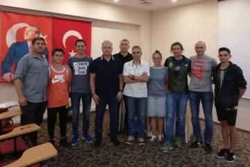 Antrenör kursu Ankara'da başladı