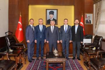 Federasyon yönetimi Balıkesir'de