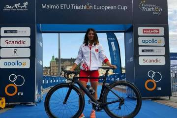 Buse Aygün Triatlon Avrupa Kupası'nda 35. sırada yer aldı