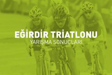 Eğirdir Triatlonu yarışma sonuçları (2018)