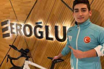 Eroğlu Holding, Uğurcan Özer'e sponsor oldu