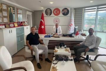 Federasyon yönetimi Erzurum'da