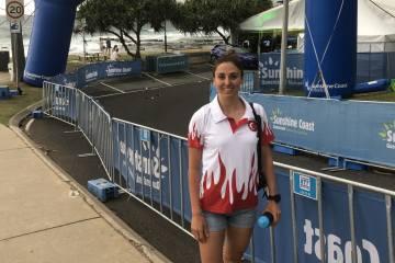 Esra Nur Gökcek Olimpiyat için hazırlıklara başlıyor
