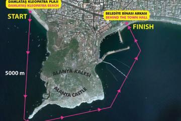 ETU triatletleri Alanya'ya çağırıyor