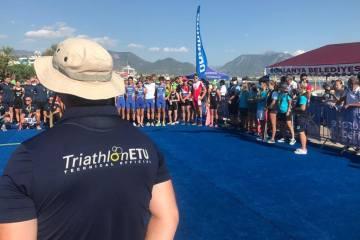 Avrupa Triatlon Birliği Gelişim Kampı devam ediyor