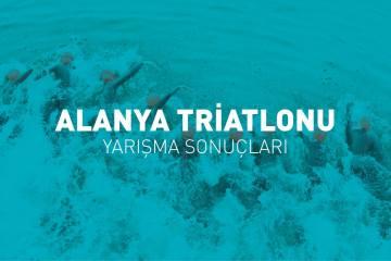 Alanya Triatlonu yarışma sonuçları (2019)