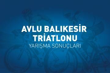 Avlu Balıkesir Triatlonu yarışma sonuçları (2019)