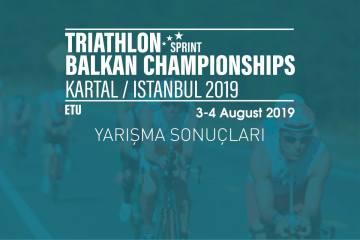 Balkan Şampiyonası yarışma sonuçları (2019)