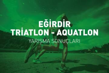 Eğirdir Triatlonu yarışma sonuçları (2019)