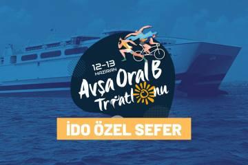 Avşa Triatlonu özel IDO feribotu ön talep duyurusu