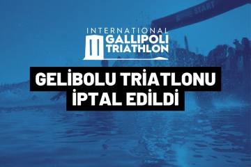 Gelibolu Triatlonu musilaj nedeniyle iptal edildi