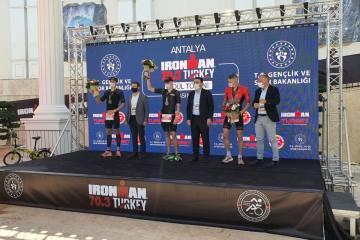 Ironman 70.3 Turkey Antalya'da yapıldı
