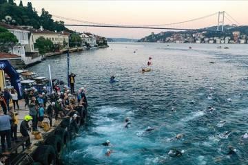 İstanbul Oral B Boğaziçi Triatlonu sona erdi