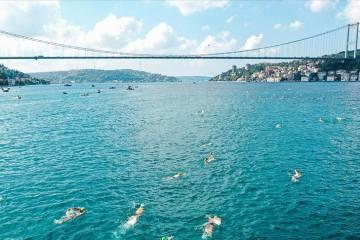 Dünyanın ilk kıtalararası triatlon yarışı İstanbul Boğazı'nda düzenlenecek