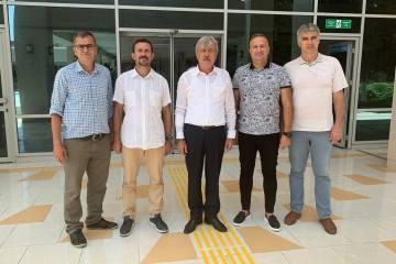 TTF yönetimi Mersin'de temaslarda bulundu