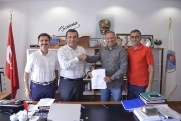 Mersin Yenişehir Triatlonu için imzalar atıldı