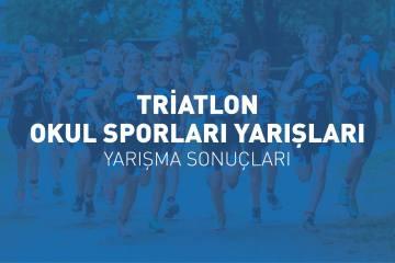 Triatlon Okul Sporları Yarış sonuçları (2019)