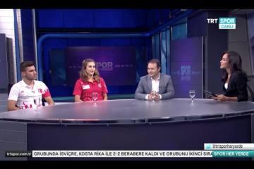 TRT Spor'da triatlon konuşuldu