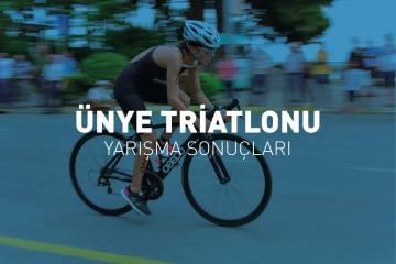 Ünye Triatlonu Yarışma Sonuçları (2018)