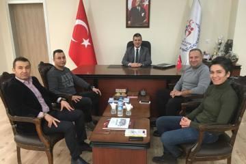 Asbaşkan Şimşek Zonguldak'ta temaslarda bulundu